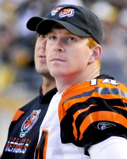 Bengals QB Pulled in Fourth Quarter in Pittsburgh