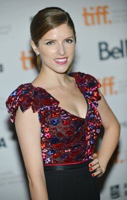 Anna Kendrick attends 'The Voices' premiere at the Toronto International Film Festival