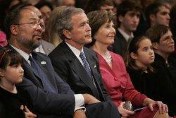 "President Bush Attends ""Christmas In Washington"" Taping"