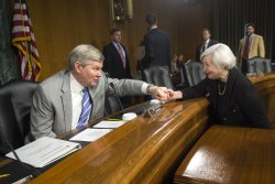 Janes Yellen's Confirmation Hearing before the Senate Banking Committee in Washington, D.C.