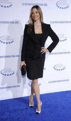 "Mira Sorvino attends the Clinton Foundation Gala in honor of ""A Decade of Difference"" held at the Hollywood Palladium in Los Angeles"