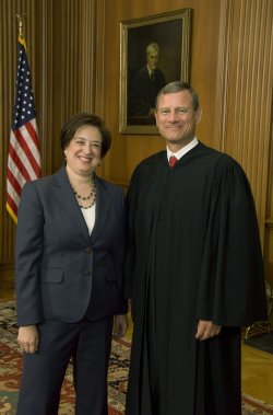 Elena Kagansworn in as the Supreme Court's newest member in Washington