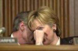 Sen. Hillary Clinton at Whitman confirmation hearing