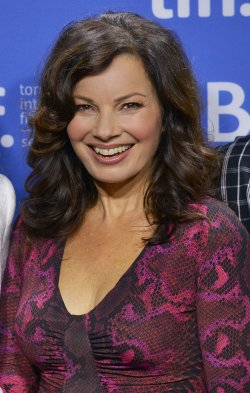 Fran Drescher attends 'Hotel Transylvania' press conference at the Toronto International Film Festival