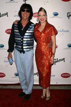 "Imelda May and Jeff Beck arrive for ""A Celebration of Les Paul"" concert in New York"