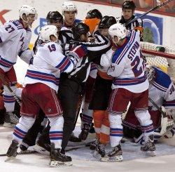 New York Rangers vs Philadelphia Flyers