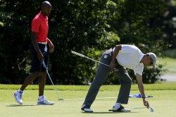 President Barack Obama at Farm Neck Golf Club
