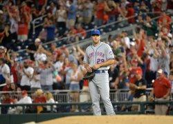 Mets' pitcher Matt Harvey in Washington