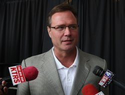 Kansas head basketball coach Bill Self talks about Hall of Fame showcase that tips off 2009-10 college basketball season