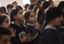 Palestinian Christians Pray On Ash Wednesday, Beit Jala, West Bank