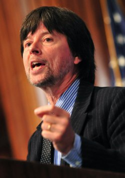"Documentary film make Ken Burns speaks about his newest project ""Prohibition"" in Washington"