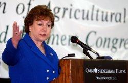SEC. ANN VENEMAN ADDRESSES 36TH FARMERS CONGRESS