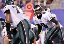 Philadelphia Eagles Vince Young at MetLife Stadium in New Jersey
