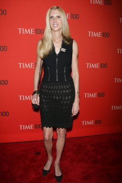 Ann Coulter arrives for the Time 100 Gala in New York