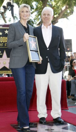 JANE LYNCH RECEIVES STAR ON HOLLYWOOD WALK OF FAME IN LOS ANGELES