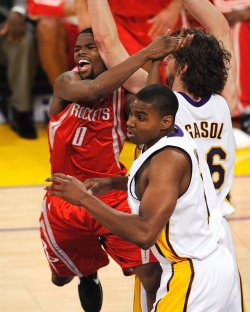 Los Angeles Lakers vs Houston Rockets NBA Game 7 Western Conference semifinals in Los Angeles