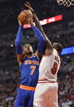 New York Knicks vs. Chicago Bulls