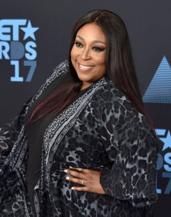Loni Love attends the annual BET Awards in Los Angeles