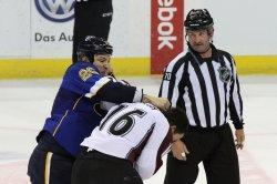 Colorado Avalanche vs St. Louis Blues hockey