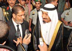 Egypt's President Mohamed Mursi a Visit Saudi Arabia