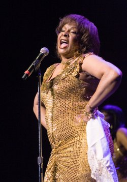 MARTHA REEVES AND THE VANDELLAS PERFORM AT THE BOULEVARD CASINO NEAR VANCOUVER