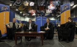 NHL All-Star Coaches talk hockey with media in Atlanta