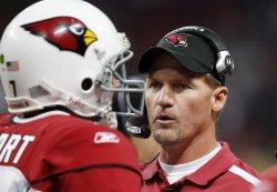 Arizona Cardinals head football coach Ken Whisenhunt