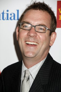 Ted Allen arrives for the Glaad Media Awards in New York