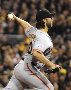 MLB National League Wildcard Giants at Pirates