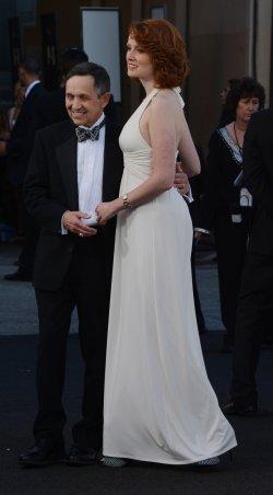 Dennis Kucinich and Elizabeth Harper arrive for AFI tribute to Shirley MacLaine in Culver City, California