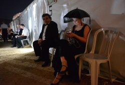 Israeli Opera Festival 'La Traviata' At Masada