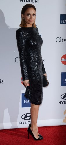 Nicole Richie attends the Clive Davis pre-Grammy party in Beverly Hills, California