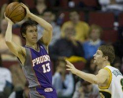 Phoenix Suns vs Seattle SuperSonics