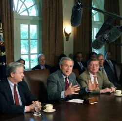 BUSH MEETS WITH MEMBERS OF CONGRESS
