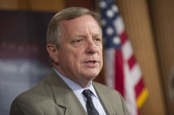Senate Democrats hold a press conference on the Government Shutdown in Washington, D.C.