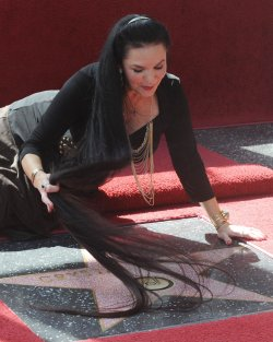 Singer Crystal Gayle receives star on Hollywood Walk of Fame in Los Angeles