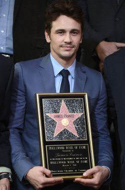 James Franco receives Star on the Hollywood Walk of Fame