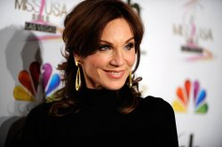 Actress Marilu Henner arrives at the 2012 Miss USA competition in Las Vegas