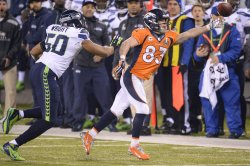 Seattle Seahawks vs. Denver Broncos in Super Bowl XLVIII in East Rutherford, New Jersey