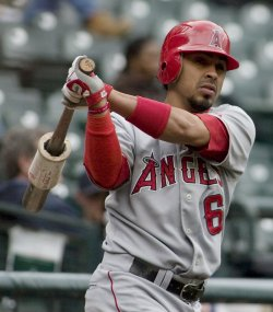 Los Angeles Angels vs Seattle Mariners in Seattle