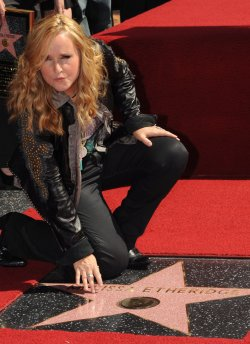 Melissa Etheridge receives star on Hollywood Walk of Fame in Los Angeles