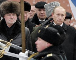 RUSSIAN PRESIDENT PUTIN CELEBRATES DEFENDER OF THE FATHERLAND DAY IN MOSCOW