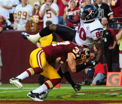 Texans' Andre Johnson scoresl in Washington