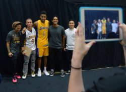 D'Angelo Russell participates in Lakers media day