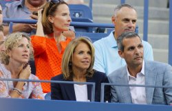 Katie Couric attends the U.S. Open in New York