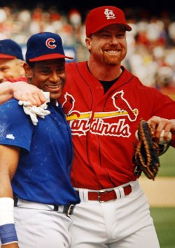Former St. Louis Cardinals slugger Mark McGwire admits steroid use while playing baseball
