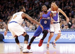 New York Knicks vs Philadelphia 76ers