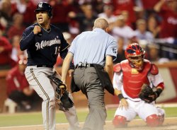 NLCS Game 4 Milwaukee Brewers vs St. Louis Cardinals