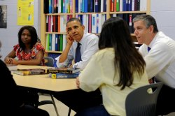 President Obama Discusses Student College Loans in Virginia