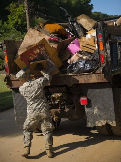 Cleanup in West Virginia after devastating floods